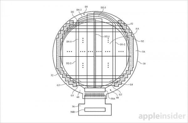 专利显示苹果正在开发圆形显示屏的 Apple Watch