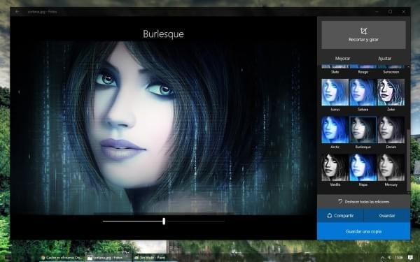 Windows 10默认图片应用Photos更新:丰富编辑功能