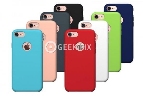疑似苹果iPhone 7官方保护套曝光 背部镂空设计八种颜色的照片 - 1