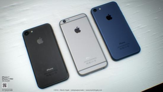 无耳机端口和电容Home按键的iPhone 7或许长这样的照片 - 1