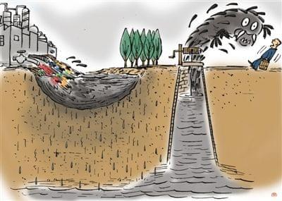 环保部督办华北渗坑污染问题 渗坑治理将加速