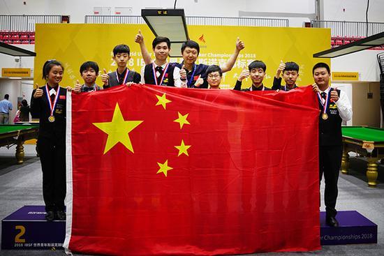 世界青年斯诺克锦标赛落幕 贺国强单杆147强势夺冠