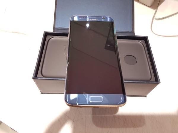 珊瑚蓝版Galaxy S7 edge开箱的照片 - 11