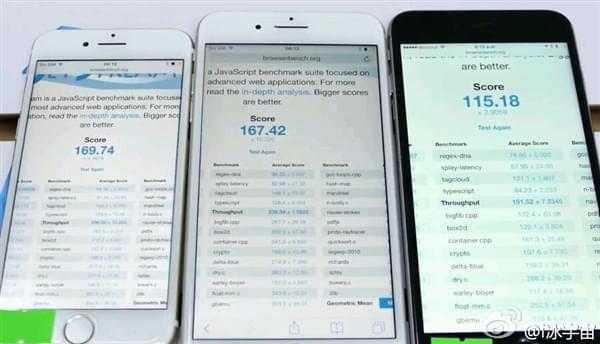 iPhone 7网页性能跑分曝光:碾压安卓阵营的照片 - 3