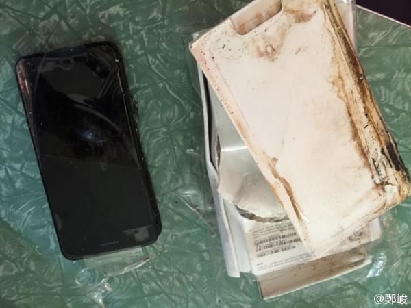 曝iPhone 7 Plus爆炸真相:缘起运输过程中受到的外力撞击的照片 - 5