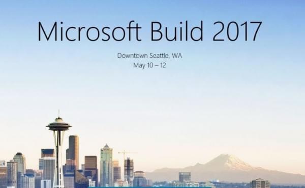程序员的情人节礼物:当天微软开始Build 2017登记的照片