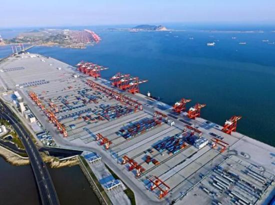 厉害了!今天,中国的这个港口被全世界围观_金羊网新闻