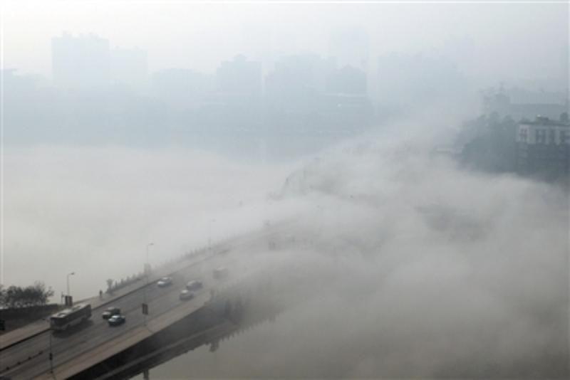 雾霾不可怕 选对净化空调轻松畅想呼吸