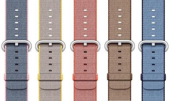 Apple Watch迎来新配色的运动/编制尼龙/经典扣式表带