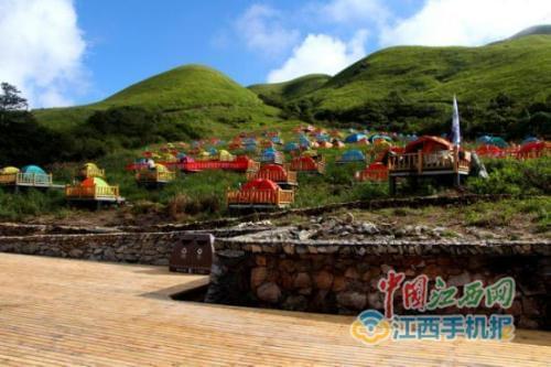 萍乡武功山帐篷节暨全景户外嘉年华开幕