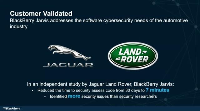 BlackBerry推车联网汽车安全漏洞利器