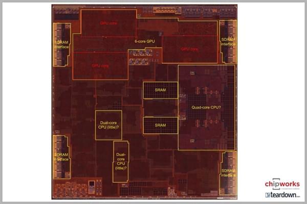 苹果A10处理器内核图曝光:找不到小核心CPU的照片 - 8
