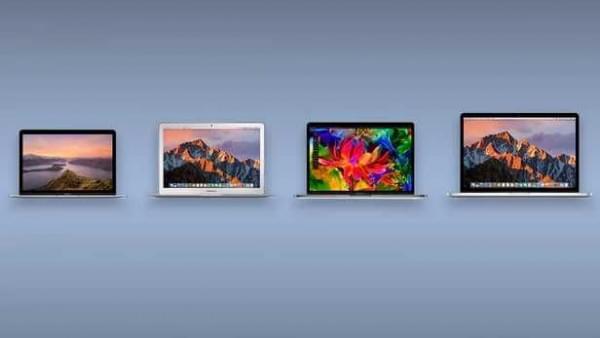 规格参数对比:苹果 MacBook 系列的对决的照片 - 1