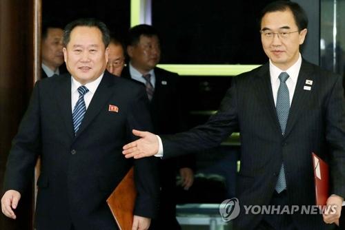 韩国向朝鲜提议15日开会 讨论组建联队等参奥事宜