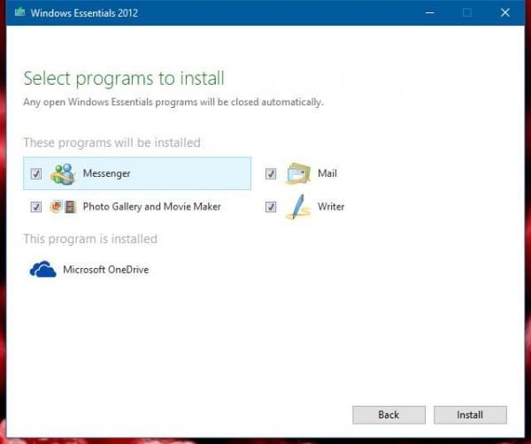 微软Windows Essentials 2012套件正式寿终正寝的照片