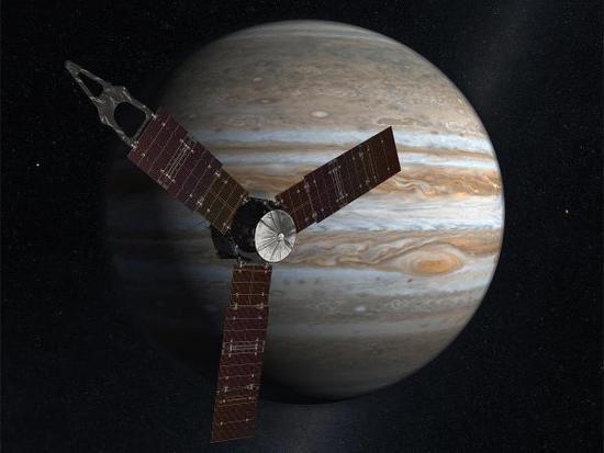 朱诺号最新发现:木星大气约占木星总质量1%
