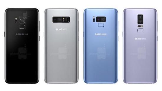 最早下月发布 三星Galaxy S9配色曝光:黑/金/蓝/新紫色