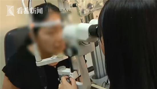 21岁女子工作室内割双眼皮 手术针断在眼内险失明