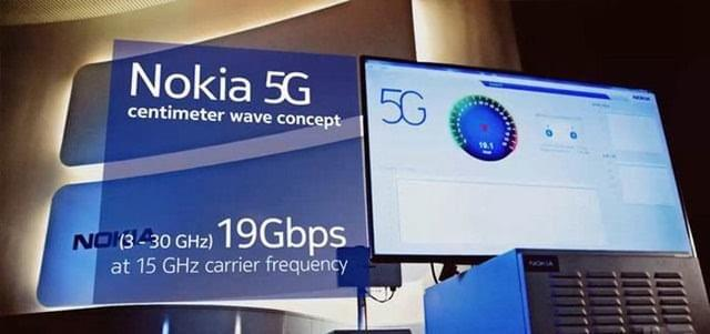 VR头显测试5G 诺基亚黑科技网速惊人