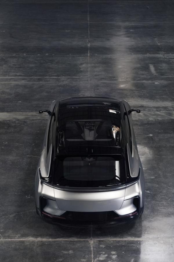 法拉第发量产汽车FF91 贾跃亭称能代替所有车型的照片 - 5