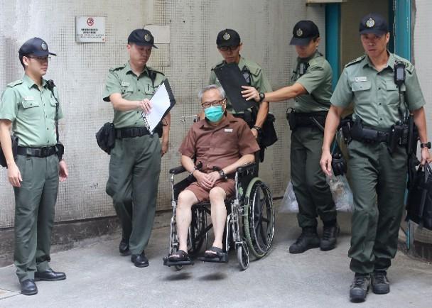 曾荫权今早被押回监狱继续服刑 并申请终极上诉