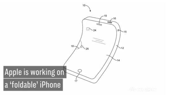 分析师:2020年苹果可能发布首款可折叠iPhone