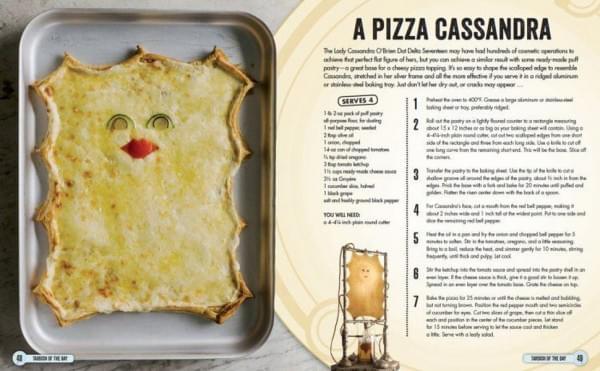 BBC联手美食作家推出一本《神秘博士》官方菜谱的照片 - 2