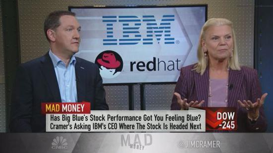IBM CEO谈收购红帽:我们将改变行业游戏规则
