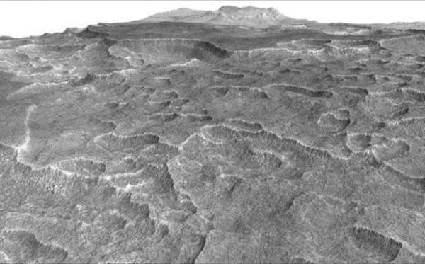 火星上最新发现的冰湖或能为未来的殖民者提供水源的照片 - 2