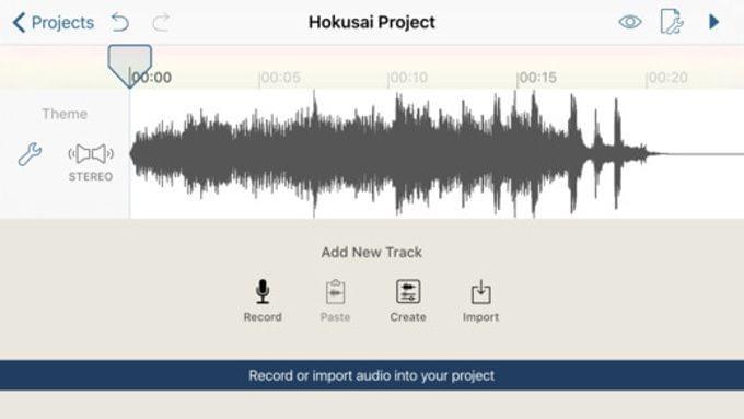 其实iPhone也可以变成免费的音乐编辑工具