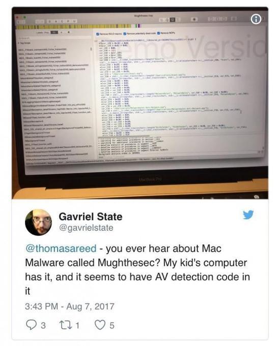听说针对Mac平台的恶意广告程序出现了新变种