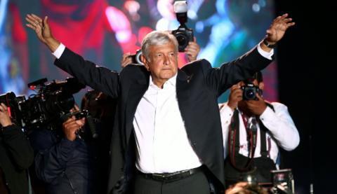 墨西哥新当选总统拒绝保镖 称人民会保护我