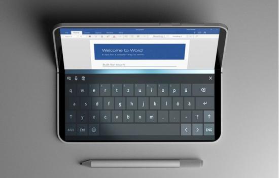 微软双屏Surface概念 惊艳的Xbox和笔电切换