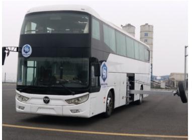 助力中国客车安全升级 福田欧辉BJ6122展示ESC车身稳定性能