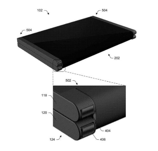 可折叠Surface手机?微软专利显示手机可变成平板电脑的照片 - 5