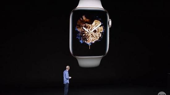 Apple Watch 4新技术:手指按屏幕能准确测心电图