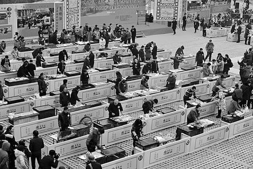 460名高手襄汾比赛打饼子 - 网易忻州