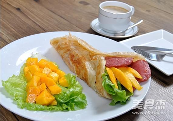 营养早餐海南手抓饼