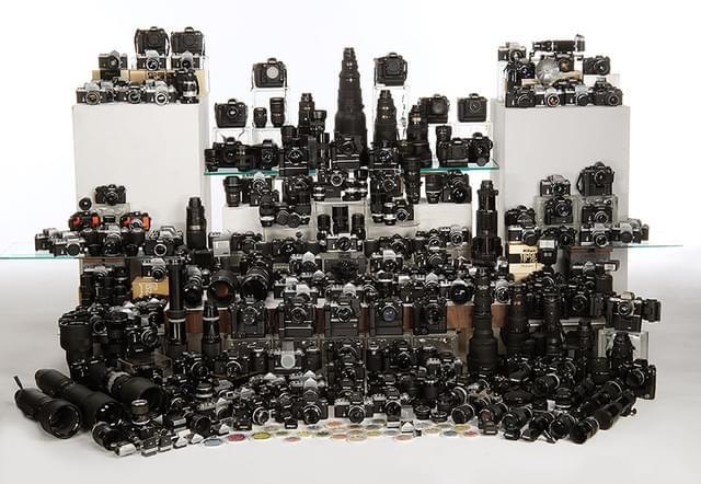尼康真爱粉 看超80万的收藏尼康器材