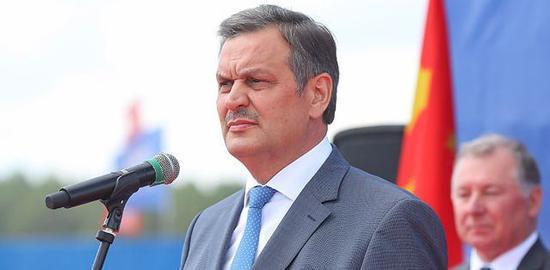 ▲白俄罗斯副总理阿纳托利・加里宁