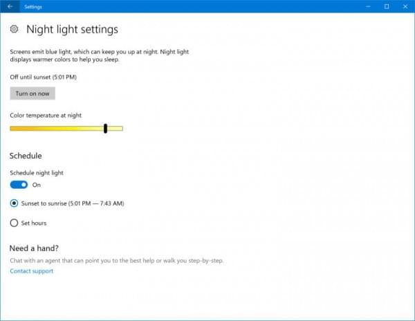 "Win10 Build 15019发布:""蓝光""功能更名为""夜光""的照片 - 8"