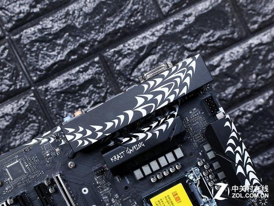 微星银环蛇系列 Z370 Krait主板1359元