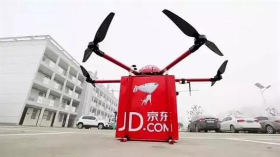 效仿亚马逊 京东将建150个无人机机场