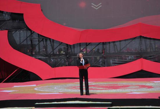 刘玮受邀担任青海省第三届丝路花儿艺术节开幕式总导演
