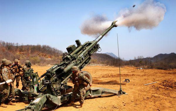 印军恢复试射美制M777超轻型榴弹炮
