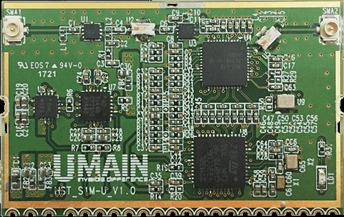 Umain公司,推出与树莓派3联动的UWB Radar sensor开发套件