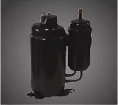 富士通将军变频空调采用直流变频双转子压缩机