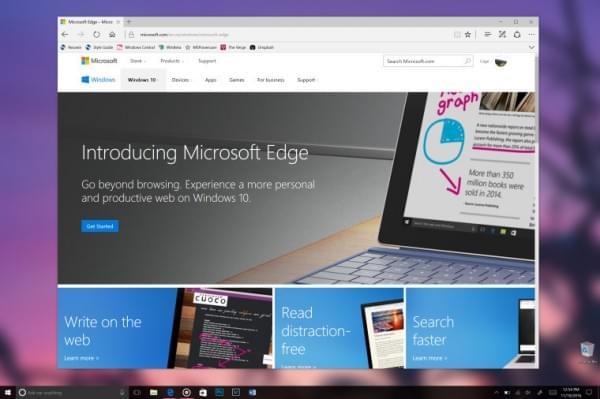 Edge浏览器迎重大更新:丰富标签页管理支持WebVR的照片 - 1