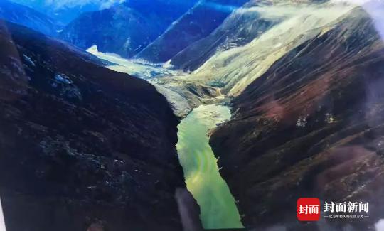 金沙江再次形成堰塞湖 水位较昨日下午已上涨8米多