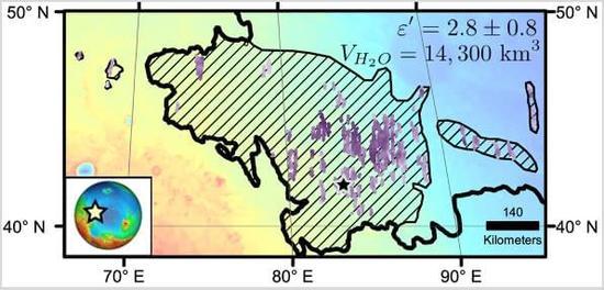 火星地下发现巨大水冰储存区:水量超地球上最大淡水湖